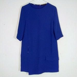 Zara Cobalt Shift Dress